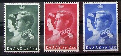 Grecia francobolli 1964, royal wedding, full set MNH