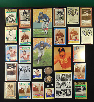 New York Giants Lot 200+ HOFers Taylor Simms Hein Robustelli Strong Huff Gifford