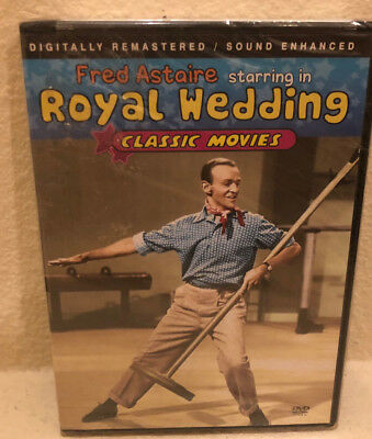 DVD - ROYAL WEDDING - FRED ASTAIRE Brand New Factory Sealed