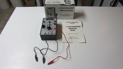 Micronta Transistor Tester # 22-024 in Box w/ Instructions, EUC! (MD)