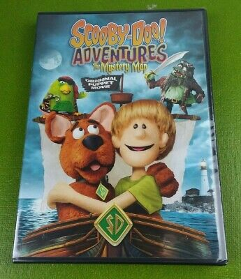 Scooby-Doo Adventures: The Mystery Map (DVD, 2014) BRAND NEW SEALED