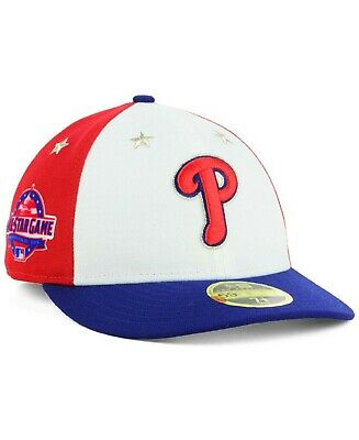 huge selection of 25162 982c6 New Era Philadelphia Phillies MLB All Star Game On Field 59Fifty Low  Profile Hat