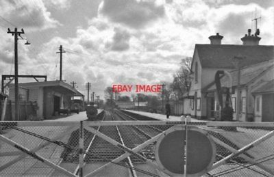 Photo  Braunton Railway Station Devon 1964 Lswr Exeter - Barnstaple - Ilfracombe