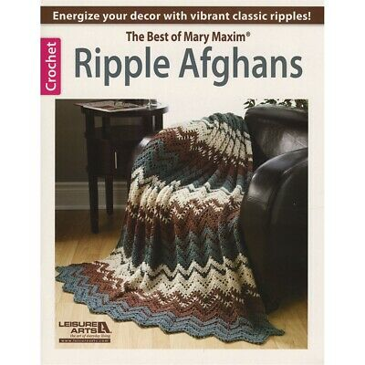 Leisure Arts-ripple Afghans-the Best Of Mary Maxim