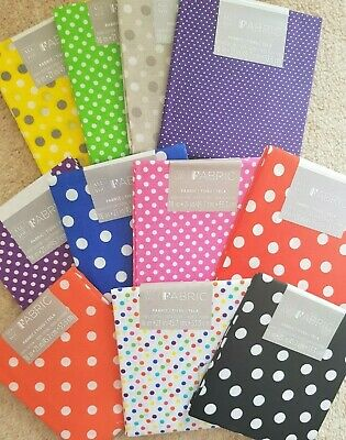 Darice FAT QUARTERS - POLKA DOT design - various colours  *SEE MULTI BUY OFFER**