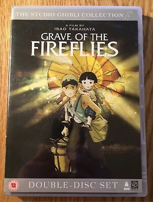 Grave Of The Fireflies (1988) 2x DVD Set (2006) Isao Takahata Studio Ghibli