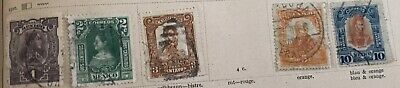 13 Mexico Stamps from 1886-1910