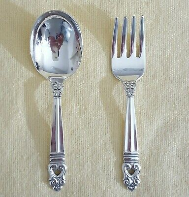 Royal Dynasty By Kirk Sterling Silver Olive Spoon Ideal 6 Custom Made