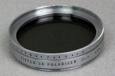 46mm Screw-In Filter Vintage TIFFEN #642 LINEAR POLARIZAER Made in USA
