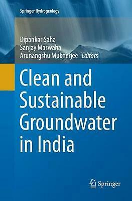 Clean and Sustainable Groundwater in India (English) Paperback Book Free Shippin