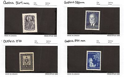 Lot of 26 Austria MNH Mint Never Hinged Stamps #120578* X R