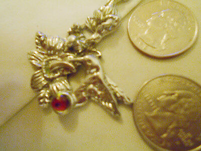 bling pewter HUMMINGBIRD bird FASHION pendant charm hip hop necklace JEWELRY DIY