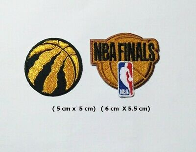 NBA FINALS TORONTO RAPTORS  Sport Logo Patch Iron and sewing on Clothes