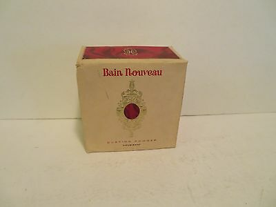 HOUBIGANT BAIN NOUVEAU BODY BATH DUSTING POWDER SEALED 5 oz ORIG BOX