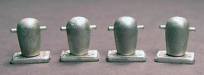 STOCKLESS ANCHORS HO Model Railroad Boat Ship Unpainted Pewter Detail FR1391