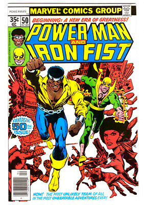 POWER MAN AND IRON FIST #50 in VF+ condition 1978 MARVEL comic