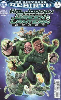 Hal Jordan and The Green Lantern Corps #2A 2016 Sandoval VG Stock Image