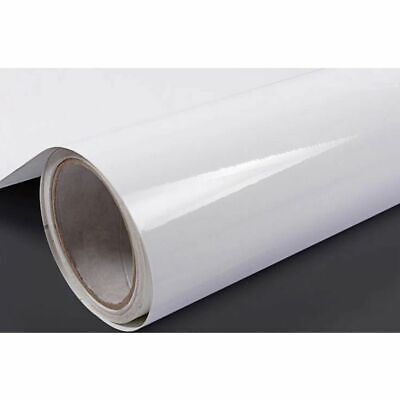 Vinyl White Self Adhesive Contact Paper Furniture Film Wall Stickers Kitchen 3m