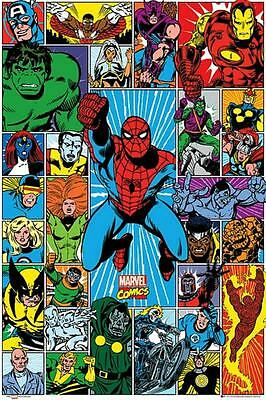 Marvel Characters : Grid - Maxi Poster 61cm x 91.5cm new and sealed