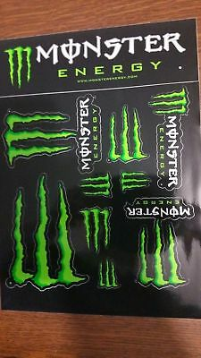 Planche stickers Monster Energy Officielle