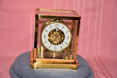 Jaeger LeCoultre Atmos Clock 15 Jewels Model 528-8 1960's SN.168715 Nice