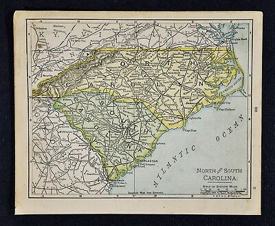 Antiques Antique Maps, Atlases & Globes 1990 AAA Street Map of Raleigh North Carolina