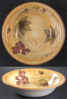 Gibson Designs ANTIQUE GRAPPA Soup Cereal Bowl 4742914