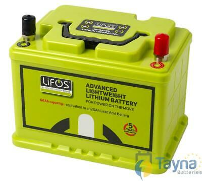 LiFOS 68 Lithium Leisure Batterij Advanced Lightweight  68Ah