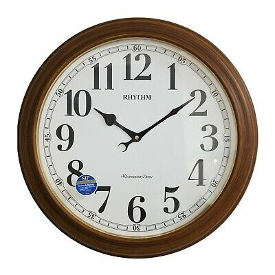 Large Rhythm Westminster Chime / Melodies Wall Clock.new And Boxed.special Offer