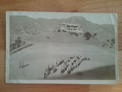 WW1 Postcard - Real Photographic - Indian Troops in Rulpla ?