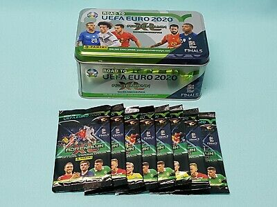 Panini Road to Uefa Euro 2020 Adrenalyn XL  Tin Box + 8 Booster