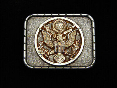 PG07139 VINTAGE 1970s **SEAL OF THE UNITED STATES OF AMERICA** PATRIOTIC BUCKLE