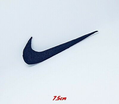 Sports badges logo colourful nike black Embroidered sew on iron on Patch