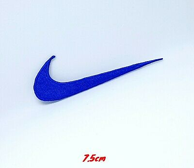Sports badges logo colourful nike blue Embroidered sew on iron on Patch