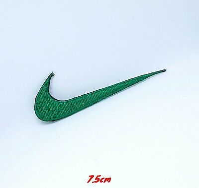 Sports badges logo colourful nike green Embroidered sew on iron on Patch