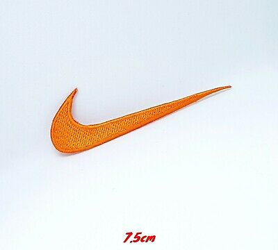 Sports badges logo colourful nike orange Embroidered sew on iron on Patch