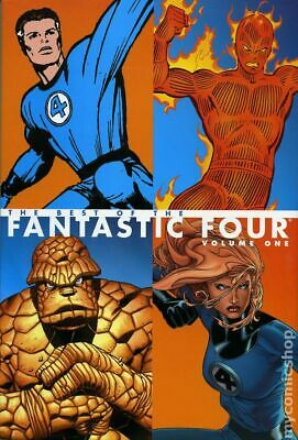 Best of the Fantastic Four HC (Marvel) #1-1ST 2005 NM Stock Image