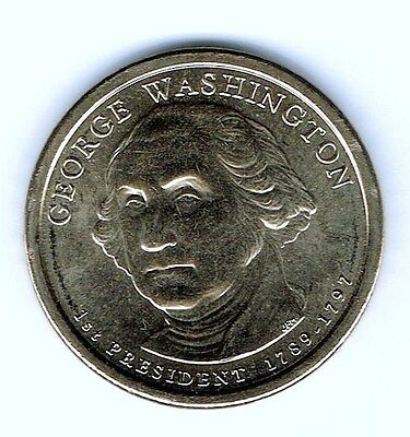 2007-D $1 George Washington Presidential Dollar