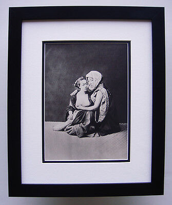 """1930s Antique Photogravure """"Old Japanese Erotic Photography"""" GALLERY FRAMED COA"""