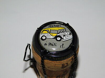 CAPSULE DE CHAMPAGNE PALM - PHILIPPE MOUTARDIER N°60a