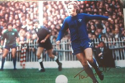 Chelsea  Tommy Baldwin  Signed  12X8 Photo