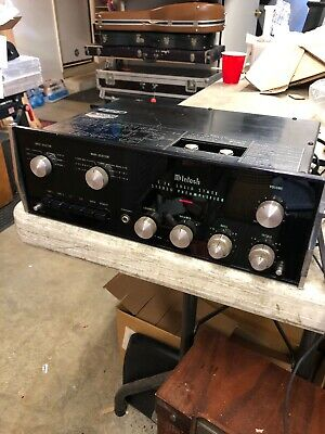 Vintage McIntosh C26 Solid State Stereo Preamplifier Preamp Audiofile VGC