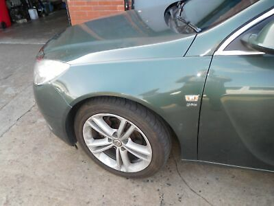 2010 Vauxhall Insignia Sri Front Wing Green Z30K Passenger Side