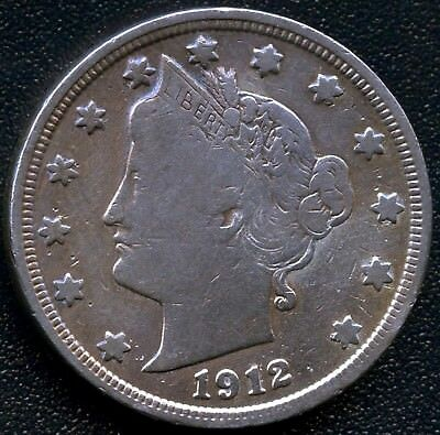 United States 1912 Liberty 5 Cent Coin