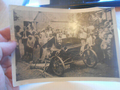 Antique Late 1800S Early 1900S Stanley Steamer Blows Up Burlington Nj With Story