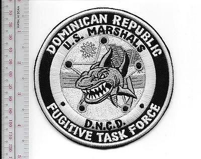 USMS Marshals Service Biloxi MS Police ATV Tactical Patrol Op Katrina Patch