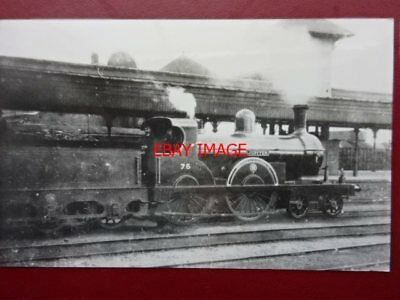 Photo  Gnr(I) Loco No 75 Jupiter Great Northern Railway (Ireland)