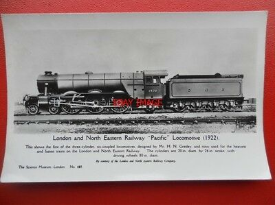 Postcard Rp Lner Ex Gnr Class A1 4-6-2 Loco No 1470 Great Northern Br 60113