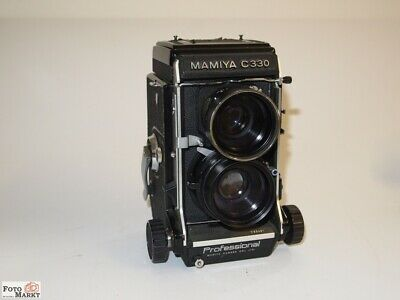 Mamiya C330 Medium Format Roll with Wechsel-Objektiv Wide Angle Sekor 3,5/65mm