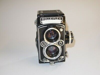 Rolleiflex 3.5 Model F 1 (K4c) Lens Carl Zeiss Planar 3,5/75 (Light Meter)